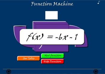 Animated Function Machine