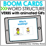 Speech Therapy Verbs with Animated GIFs BOOM Cards™️