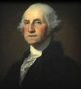 "George Washington Animated ""Harry Potter Magical Portrait"""
