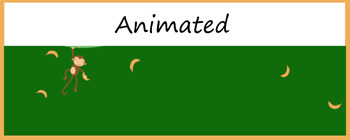 """Bananas"" Animated Google Classroom Headers/ Banners"