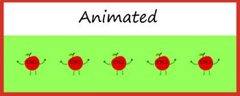 Google Classroom Animated Theme (Dancing Apples)
