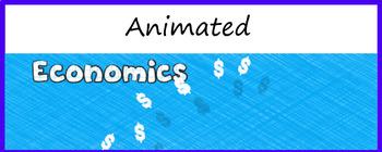 "Animated Google Classroom Header  ""Economics"""
