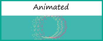 "Animated Google Classroom Header  ""Fountain"""