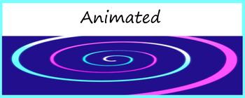 Google Classroom Animated Theme Freebie (Spiral)