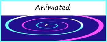 Animated Header for Google Classroom (Spiral Freebie) Distance Learning