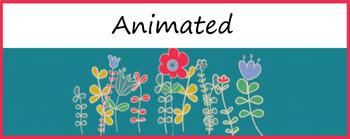 """Garden"" Animated Google Classroom Headers/ Banners"