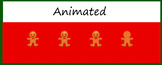 Google Classroom Animated Theme (Gingerbread Men)