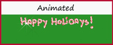 Google Classroom Animated Theme (Happy Holidays!)