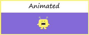 Google Classroom Animated Theme (Cute Monster)