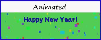 Google Classroom Animated Theme (New Year Celebration)