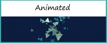 Google Classroom Animated Theme (Triangles)