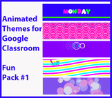 Animated Google Classroom Headers (Fun Pack #1) for Distan