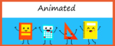 Animated Google Classroom Headers (Happy) - Distance Learning