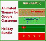 Animated Google Classroom Headers - Holiday Bundle