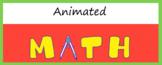 Animated Google Classroom Headers (Math Class) - Distance