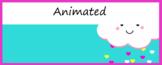 Animated Google Classroom Headers (Nice Weather) - Distanc