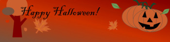 Animated Google Classroom Theme - Halloween