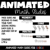 Animated Google Math Lessons for Distance Learning