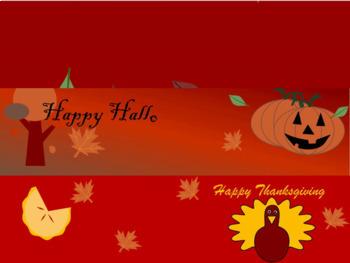 Animated Google Theme Fall BUNDLE