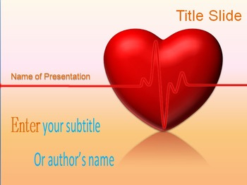 Animated Heart PPT Template