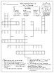 Animated Hero Classics Harriet Tubman Crossword Puzzle Differentiated