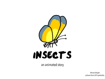 Insects animated Book and Quiz for non verbal Level 1 students