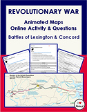 American Revolution Animated Maps: Lexington & Concord Onl