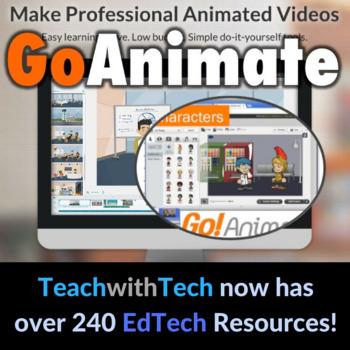 GoAnimate Lesson Animated Movies Activity UPDATED