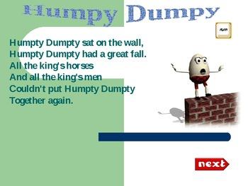 Animated Nursary rhymes