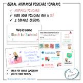 Digital Postcard for Google Classroom