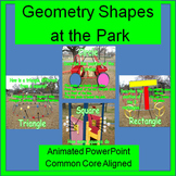 Geometry Shapes:  Two-Dimensional (2D Geometry)