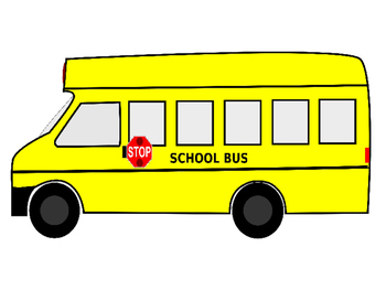 Animated PowerPoint Articulation Material - Bus / On the bus / ride the bus