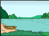 Animated PowerPoint Articulation Materials - Boat, Lake, Pond, Sail