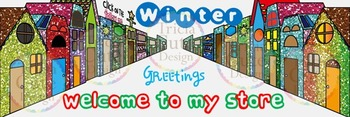 Animated Quote Banner (Ready-to-Use) No.7, Winter Village, Snow, Christmas