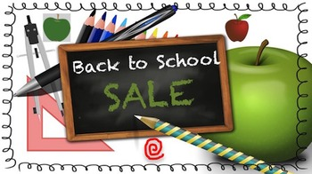Animated Quote Box Banner - Back to School SALE!