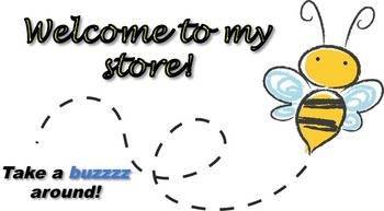 Animated Quote Box Banner - Cute Bumble Bee