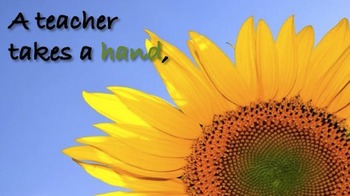 Animated Quote Box Banner - Hand, Mind, Heart