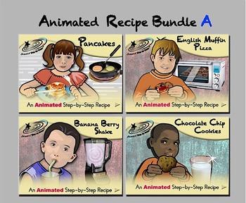 Animated Recipe Bundle A - Animated Step-by-Steps® - Reg