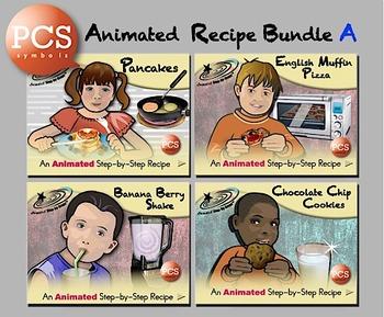 Animated Recipe Bundle A PCS Symbols