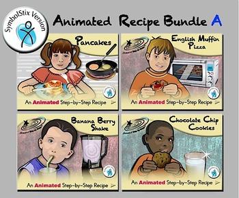 Animated Recipe Bundle A SymbolStix