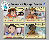Animated Recipe Bundle A - Animated Step-by-Steps® - SymbolStix
