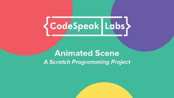 Animated Scene: Creative Writing + Code