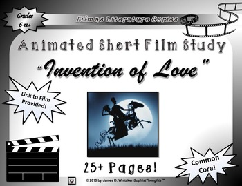 Animated Short Film Unit Study Bundle Ultimate Collection (Growing Bundle)