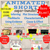 Animated Shorts for Reading Instruction - BUNDLE!!   Dista