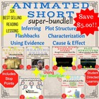 Animated Shorts for Reading Instruction - BUNDLE!!