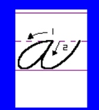 Animated Traditional Cursive SmartBoard Upper and Lowercase