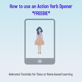 Animated Tutorial: How to use an Action Verb Opener