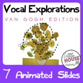 Animated Vocal Exploration Cards - Van Gogh Set