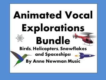 Animated Vocal Explorations Bundle