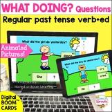Animated! WH Questions & Regular Past Tense Verbs Speech T